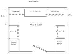 Walk In Closet Layouts Bing Images