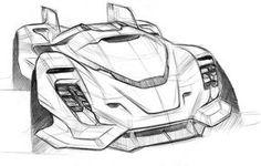 automotive_sketchbook II on Behance Futuristic Motorcycle, Futuristic Cars, Car Design Sketch, Car Sketch, Industrial Design Sketch, Car Drawings, Cool Sketches, Transportation Design, Future Car