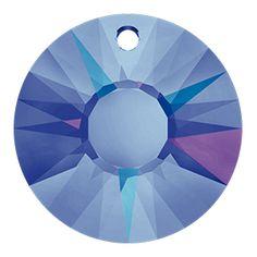 Swarovski Crystal Sun Pendant | Fusion Beads