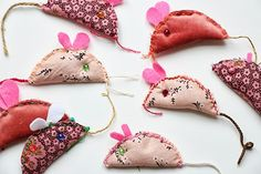 Sisters Guild: Monday Makery - Little Lavender Mice
