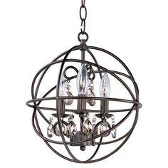 Orbit Oil Rubbed Bronze Three Light Pendant