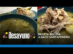 Receta: ajiaco santafereño con aguacate y arroz | El Desayuno - YouTube Chefs, Meat, Chicken, Youtube, Food, Avocado, Rice, Breakfast, Essen