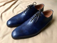 Meermin Navy Museum Calf Wholecut Oxford Size 9 $250 - Grailed