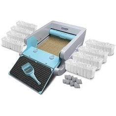 Litter Boxes 100411: New Automatic Self Cleaning Litter Box Cat Pet Kitty Pan Scoop Selfcleaning Paw BUY IT NOW ONLY: $109.99
