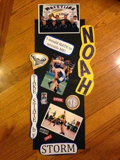 State Wrestling locker decorations!!  Go STORM!!  Roll thunder!