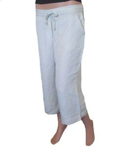 linen capri pants for women - Pi Pants