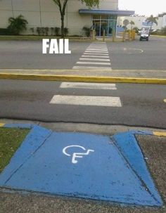 ... fails! lol on Pinterest | Wheelchair ramp, Wheelchairs and Design