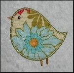 Adorable Birds  Applique designs