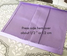 side hems pressed up Small Sewing Projects, Sewing Projects For Beginners, Sewing Hacks, Sewing Tutorials, Sewing Tips, Sewing Ideas, Easy Face Masks, Diy Face Mask, Crochet Mask