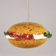 This elegant and decorative hamburger light will set the mood for any cocktail or dinner party this holiday season.
