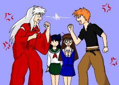 anime crossover | crossover - Anime Crossover's Photo (31381012) - Fanpop fanclubs