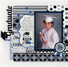 Back To School Scrapbook Layout | Scrapbooking Ideas | 12X12 Scrapbook Page | Creative Scrapbooker Magazine #scrapbooking #12X12layout #backtoschool
