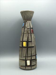 Bay 504 - 25 Big Vases, Pottery Art, Lava, Pots, Germany, Sparkle, Deutsch, Pallet, Cookware