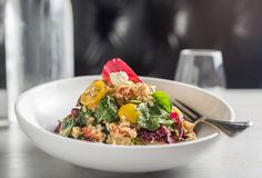 Power-charge your day with the gluten-free Power Salad at Piquant!