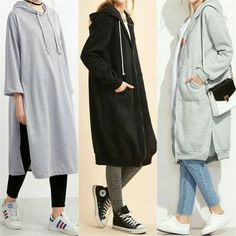 Hijab styles 503418064582308896 - Longline Modest Sweatshirts – Prices & Stores Source by hijabfi Hijab Casual, Hijab Chic, Hijab Outfit, Islamic Fashion, Muslim Fashion, Modest Fashion, Hijab Fashion Summer, Hijab Styles, Mode Outfits