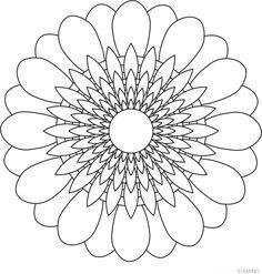 Free mandalas coloring > Sun Mandala Design > Sun Mandala Design 4