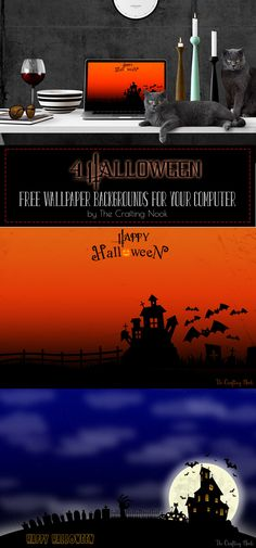 Fun Halloween Free Wallpaper Backgrounds for your Computer #freewallpaper #freewallpaperbackground #hallweenfreewallpaper