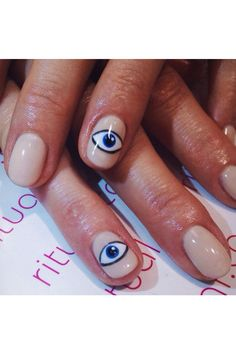evil eye nail design - Google-søk