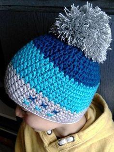 Exceptional Stitches Make a Crochet Hat Ideas. Extraordinary Stitches Make a Crochet Hat Ideas. Crochet Hats For Boys, Crochet Baby Beanie, Crochet Cap, Crochet Baby Clothes, Love Crochet, Crochet Designs, Crochet Patterns, Crochet Stitches For Beginners, Crochet Winter