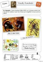 Parcours en histoire de l'art: Musette Souricette Kandinsky, Art Lessons For Kids, Art For Kids, Art History Memes, Art Handouts, Ecole Art, High Art, Art Classroom, Teaching Art