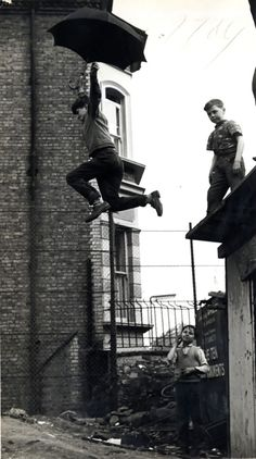 Umbrella Leap, 1963
