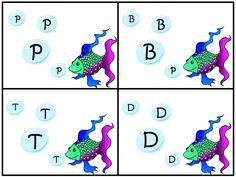 The Dabbling Speechie: Phonemic Awareness Activity for The Rainbow Fish Book. Pinned by SOS Inc. Resources. Follow all our boards at pinterest.com/sostherapy for therapy resources.