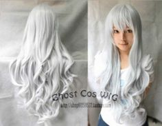 Hot 12 Colors Beautiful Long Curly Cosplay Party Wavy Wig 80cm Free Shipping | eBay