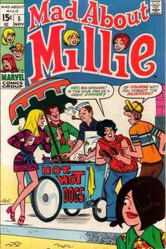 Millie The Model Comic Book Archie Comic Books, Vintage Comic Books, Vintage Cartoon, Vintage Comics, Comic Book Characters, Comic Books Art, Comic Art, Old Comics, Marvel Comics
