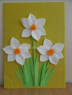 Flowers Mobile Daisy Summer Decoration *** Daisy Flower Mobile Summer Deco - Fairy Lights ideas - Flowers Mobile Daisy Summer Deco *** Daisy Flower Mobile Summer Deco The Effective Pictures We Offe - Spring Activities, Craft Activities, Preschool Crafts, Easter Crafts, Felt Crafts, Spring Crafts For Kids, Summer Crafts, Diy For Kids, Hobbies And Crafts