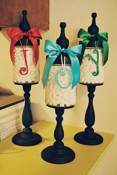 DIY Christmas jars.