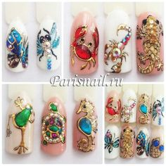 Butterfly Nail, Flower Nail Art, Acrylic Nail Art, Gel Nail Art, Animal Nail Art, Pearl Nails, Nail Patterns, Hot Nails, Beautiful Nail Art