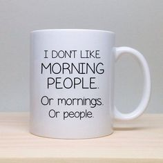 21 Brutally Honest Coffee Mugs That Nail Your Morning Struggle #CoffeeMug
