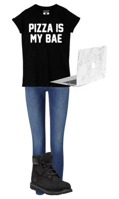 """""""Untitled #401"""" by kingbella on Polyvore featuring Frame Denim and Timberland"""