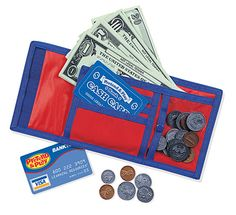 Cash 'n Carry Wallet Set by Learning Resources - $8.95