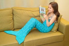 Children's Mermaid Tail KNITTING Pattern for by MSDesignPatterns