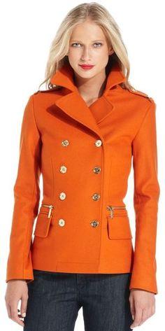 Michael Kors ~ Double Breasted Pea Coat