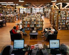 "Elliott Bay Book Co., Seattle. ""People understand that if they want to continue to have choices and things that they value available to them, they have to vote with their feet and their wallets,"" said owner Peter Aaron."