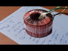 How to calculate Turns per volt of Circle Type Transformer winding Electronic Schematics, Electronic Parts, Transformer Winding, Electrical Transformers, Iron Man Arc Reactor, Toroidal Transformer, Electrical Engineering, Electronics Projects, Calculator