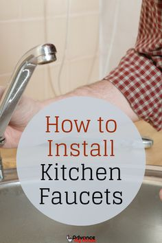 How to Install Kitchen Faucets Putting the cost of paying a plumber into consideration, then you might want to decide to install your kitchen faucet yourself without incurring the extra cost. Learn how to install kitchen faucet in an effective way. Kitchen Faucet With Sprayer, Best Kitchen Faucets, Bathroom Faucets, Concrete Bathroom, Dream Bathrooms, White Bathrooms, Luxury Bathrooms, Master Bathrooms, Home Decor Kitchen