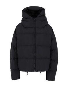Bacon Down Jacket In Black Pop Up Shops, Duck Down, Sportswear Brand, World Of Fashion, Bag Accessories, Hoods, Bacon, Winter Jackets, Long Sleeve