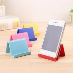 Stile coreano Telefoni Mobile Phone Holder Creativo Cute Caramelle Mini Portatile Supporto Fisso Semplice Stoccaggio Detriti Cremagliera Casa e Giardino