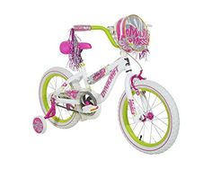 Kids' Bicycles - Dynacraft 805483ZTJ Girls Maui Miss Magna Bike WhitePinkGreen 16Inch -- Visit the image link more details.