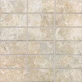"Found it at Wayfair - San Michele 12"" x 12"" Cross - Cut Mosaic Tile in Crema"