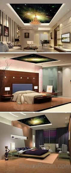 3d star 1 ceiling wall mural wall paper wall decals wall art print deco business office wallpaper