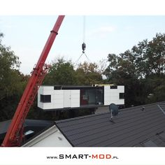 Container Buildings, Container Architecture, Small House Interior Design, House Design, Concept Architecture, Architecture Design, Cargo Home, Prefab Modular Homes, Tiny Mobile House