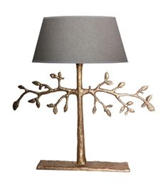 Lampe Olive - cast bronze with gold finish