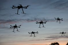 Google robot army and military drone swarms |    UAVs may replace people in the theatre of war