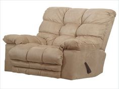 Catnapper Magnum Magnum Chaise Reclining Heated Massage Chair with Ottoman Body Fabric: Saddle Oversized Recliner, Tommy Bahama Beach Chair, Couch Covers, Sofa Chair, Recliner Chairs, Arm Chairs, Dining Chairs, Chairs For Sale