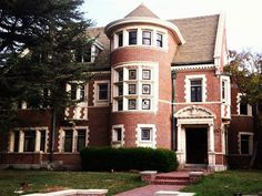 If you're a fan of the American Horror Story series, here's the real house used as the film location for the house in Season 1 in Los Angeles, CA. The real house is known as the Alfred F. Rosenheim Mansion, is a three-story home plus a grand ballroom (formerly a chapel) with Tiffany stained glass widows and light fixtures – just as one of the deceased characters points out on the show.