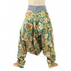 Harem pants - patterned